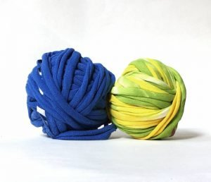 How to join TShirt yarn without sewing tutorial