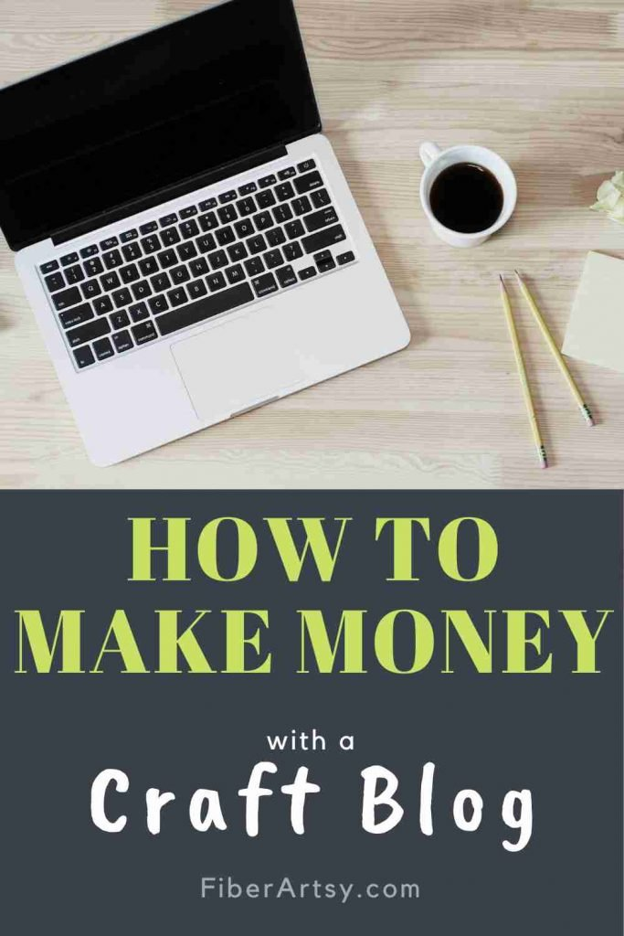 how to make money with a craft blog