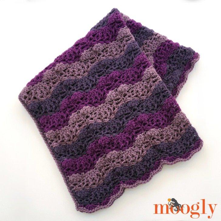 Little Princess Baby Blanket Crochet Pattern