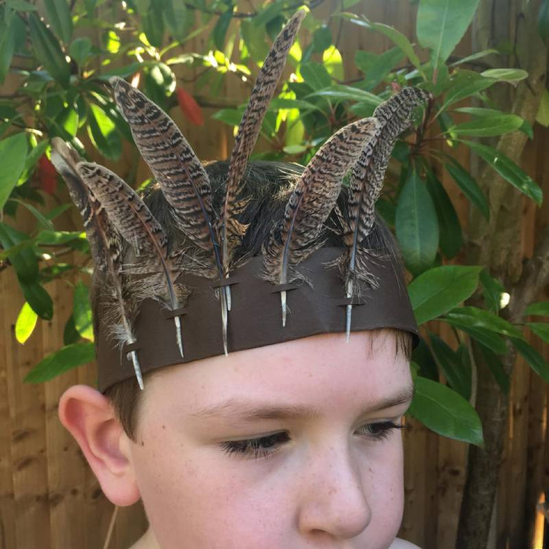 DIY Feather Crown for Kids