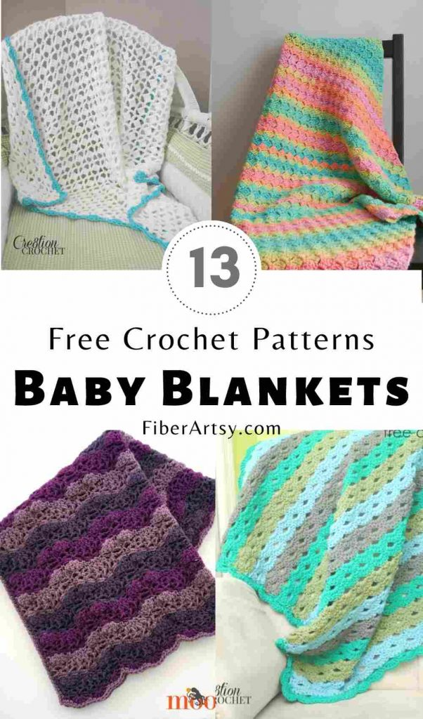 Baby Blanket and Afghan Crochet Patterns