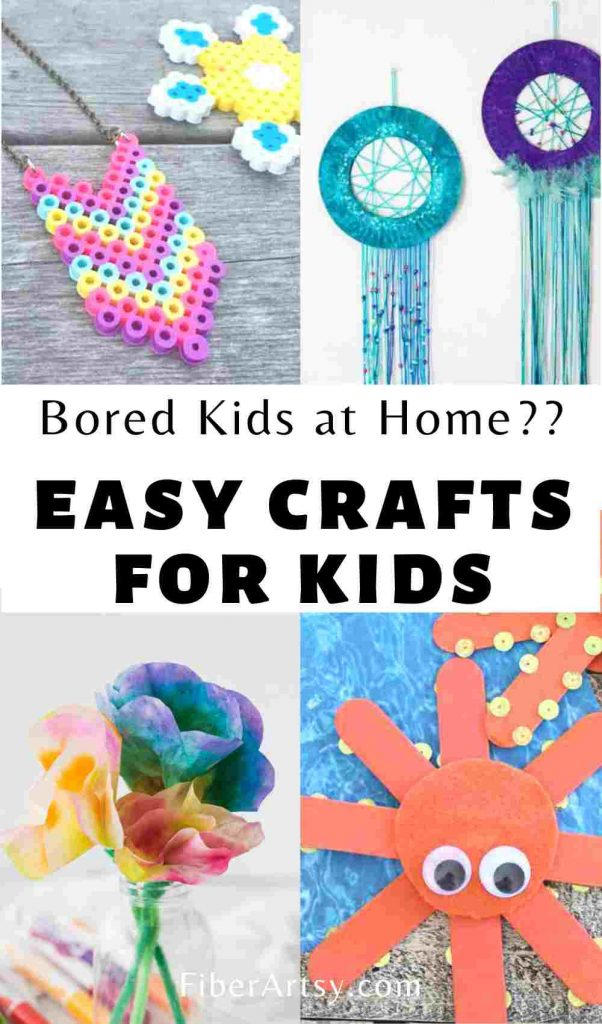 Easy craft ideas for kids at home