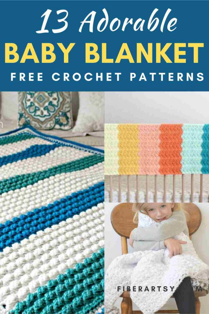 Free Crochet Patterns for Baby Blankets
