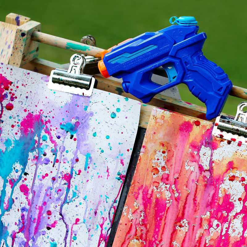 Painting with a Squirt Gun