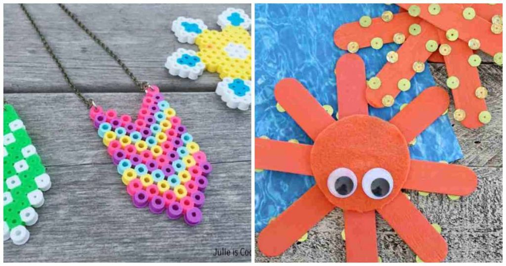 craft ideas for kids at home