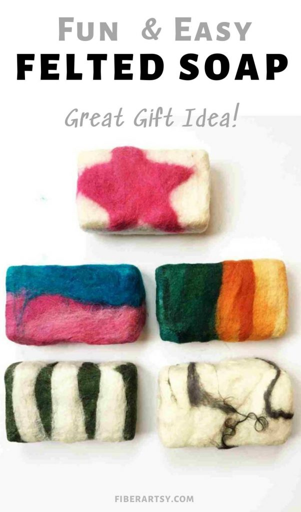 How to make Felted Soaps Tutorial