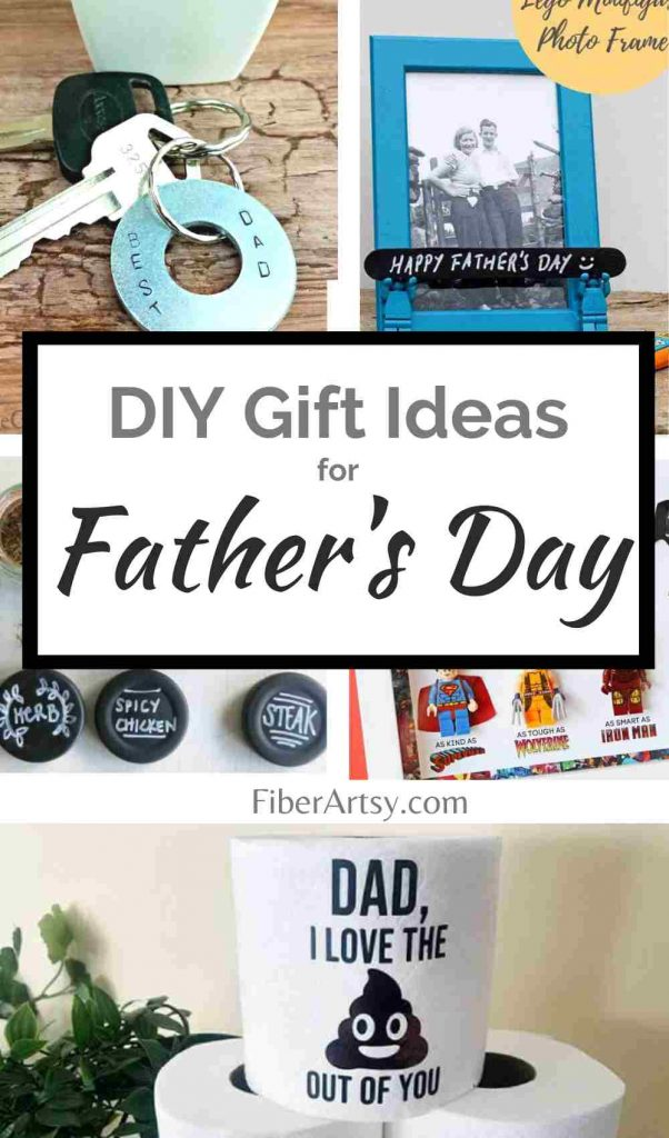 DIY and Handmade Father's Day Gift Ideas