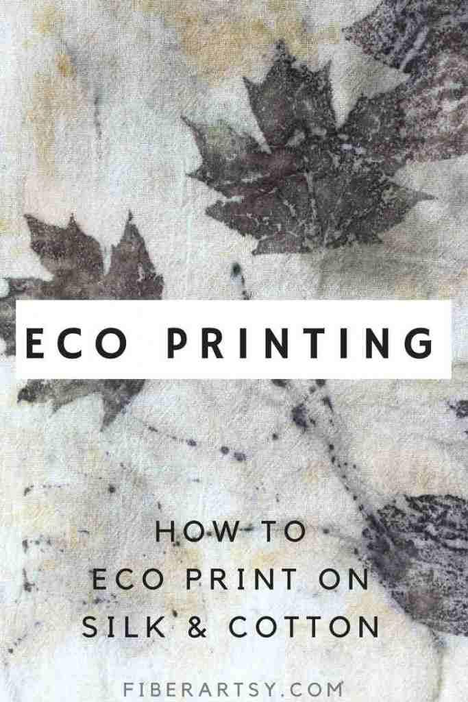 Eco Printing on Fabric Tutorial
